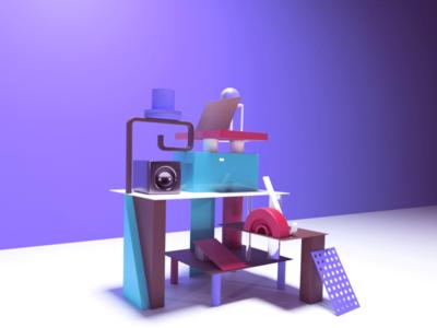 3D modeling 3d art