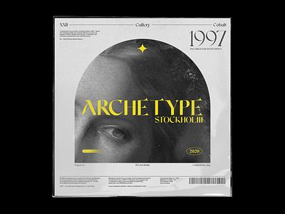 Poster | Stockholm Tech Expo 97 poster art typography design illustration print typogaphy branding design poster design