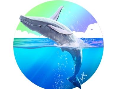 jubartes cover ocean steampunk digitalartist illustration quadrinho design art
