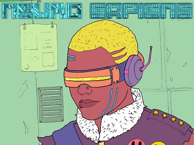 Neuro art scifi quadrinho netflix hq graphicnovel comic digitalartist digitalart steampunk illustration jheinealves cyberpunk neurosapiens