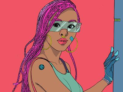 #neurosapiens neurosapiens scifi quadrinho netflix hq graphicnovel comic digitalartist digitalart steampunk jheinealves illustration cyberpunk art
