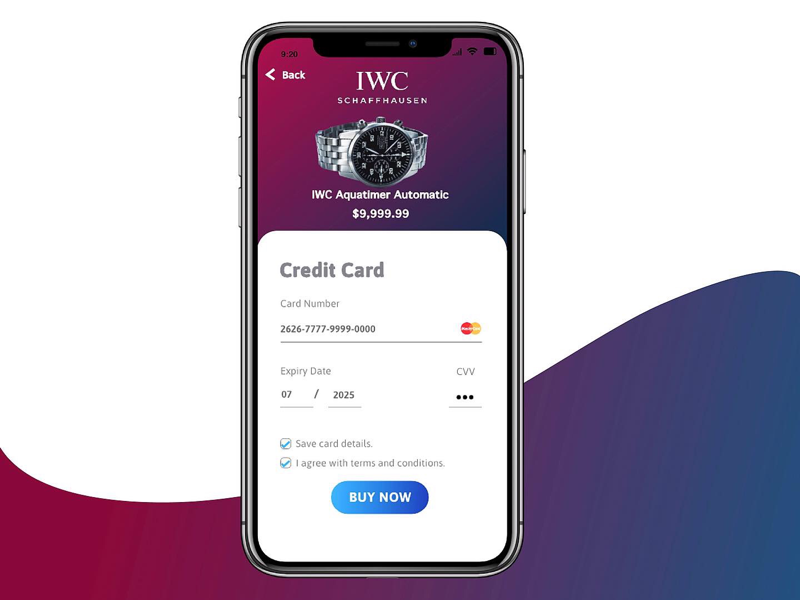 Mobile UI Credit Card Checkout checkout creditcard ui dailyui