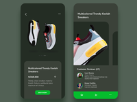 Mobile UI- Online store