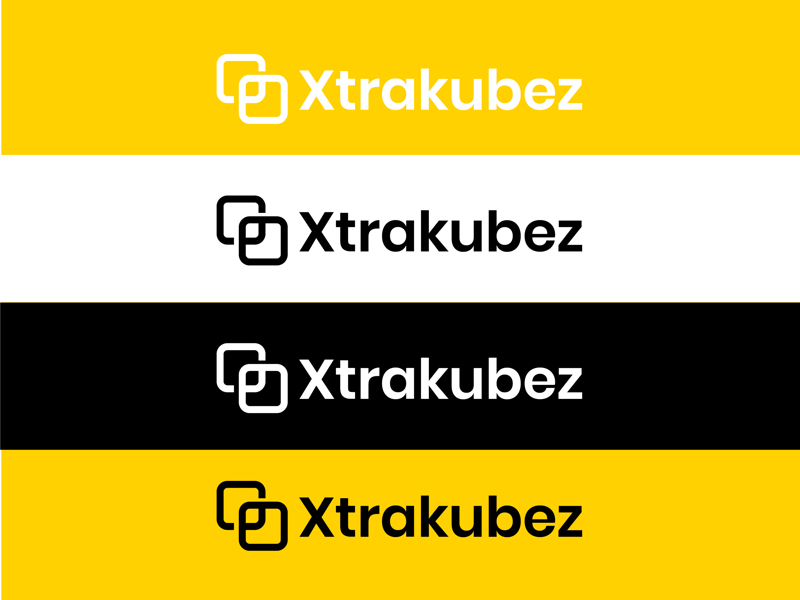 Xtrakubez logo design brand identity branding logo design logo