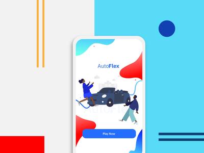 AutoFlex Game- Mobile landing page