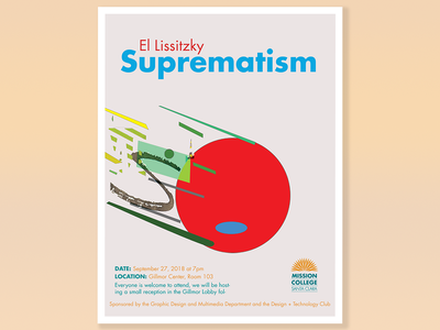 Suprematism Poster school poster poster abstract suprematistm