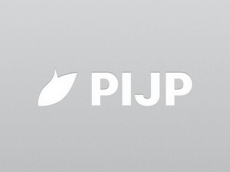 Pijp - Logotype aluminum light metal logotype pijp identity branding