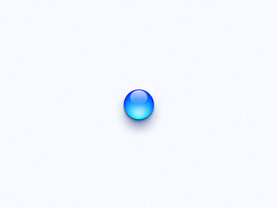 Aqua skeu icon ui blue button aqua drop