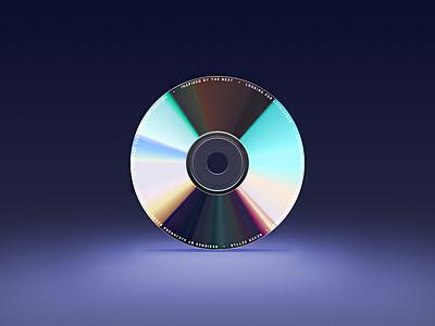 Compact Disc skeu 1930 light audio music dvd design graphic player ui icon cd disc