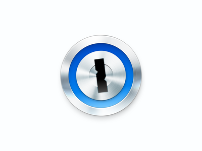 1Password skeu vector app logo design redesign concept password key metal redesign icon