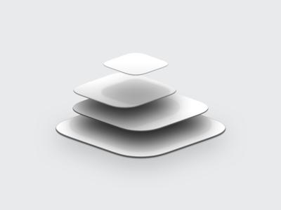 Floating App Tiles