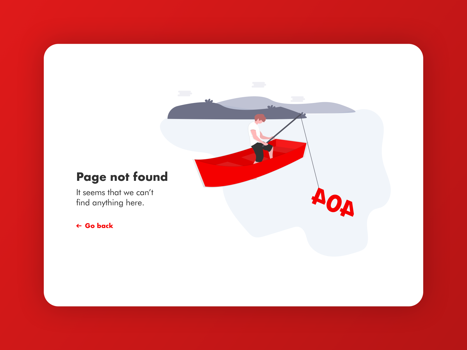 404 Page - Daily UI 008