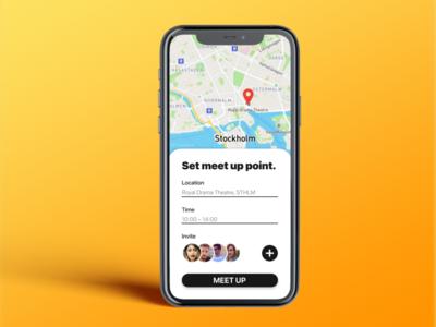 Daily UI: Map mobile ui application app design mobile app design mobile app mobile ui ui design daily ui dailyui
