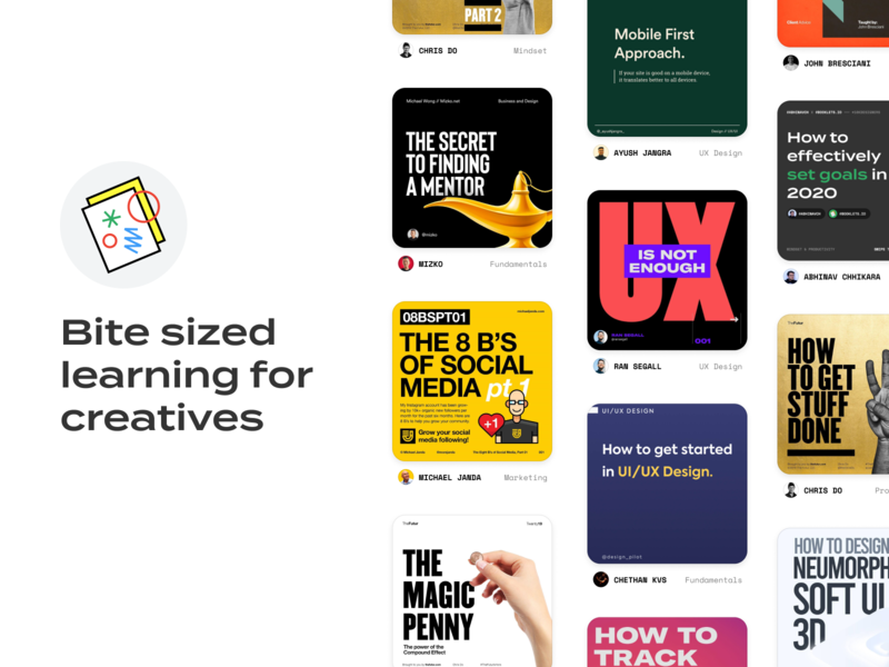 Introducing, Booklets.io resources education website ux design ui design learning education booklets