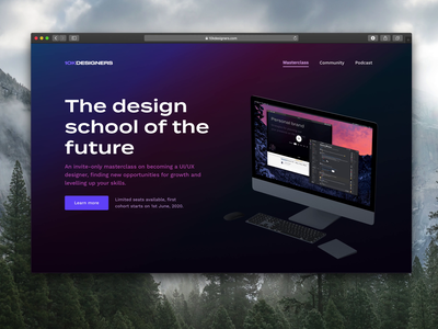 10k Designers Masterclass 10kdesigners web design webflow website design website ux web ui