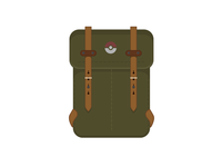 Pokémon Trainer/Hiker Bag