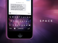 iOS Space Keyboard