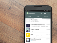 WhatsApp Calls - Style explorations