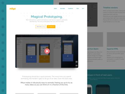 Mitya Website mitya web design website prototyping
