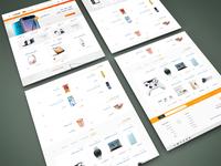 E-Commerce Store concept design