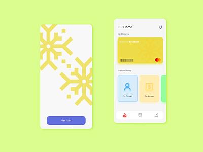 Payment App Simple UI xd web ux ui modern illustration adobe branding design ui illustration ux design 2d 3d