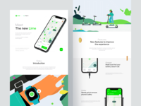 Lime – Electric Scooters Experience Reimagined design product coin application mobile behance illustration fab animation pin map navigation scooter ios app