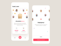#PosiłekDlaSeniora – Mobile app payment support mobile app ux avatars confirmation thanks covid cards dashboard ui app ios mobile covid-19 charity