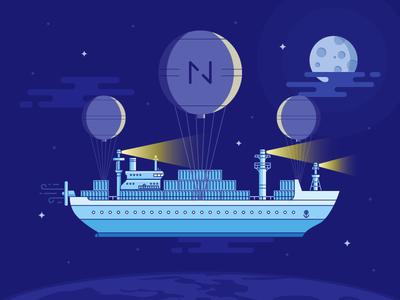 Netguru Labs - Brochure cover illustration