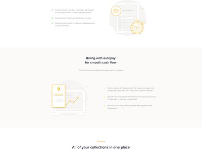 Groundwork - For Teams website landing dashboard illustration user onepage credit parents team payment sport groundwork