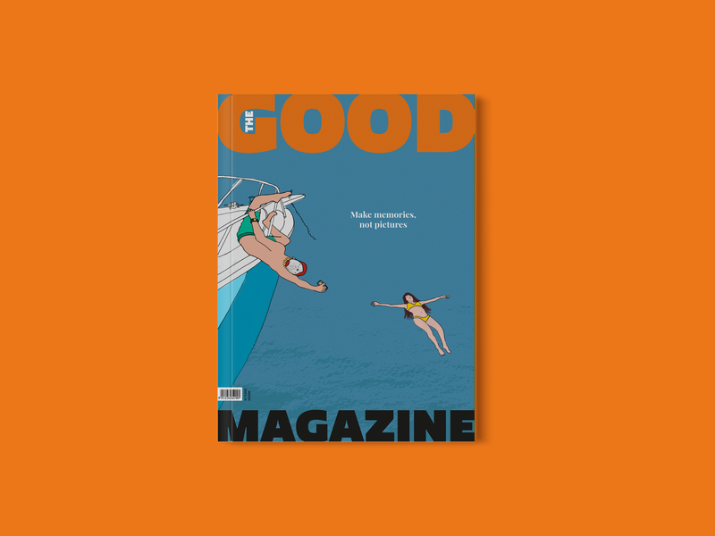 THE GOOD MAGAZINE | Holiday illustration graphicdesign design cover design