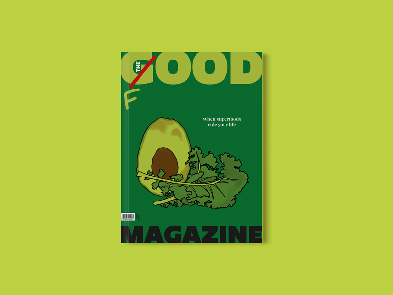 THE GOOD MAGAZINE | Food illustration graphicdesign design cover design