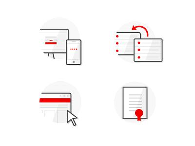 iWink icons ssl desktop mobile browser server icons