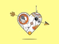 BB-8 HEART