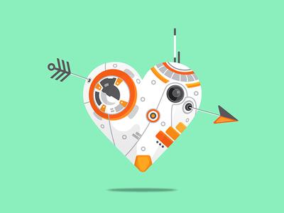 BB-8 HEART - Version 2