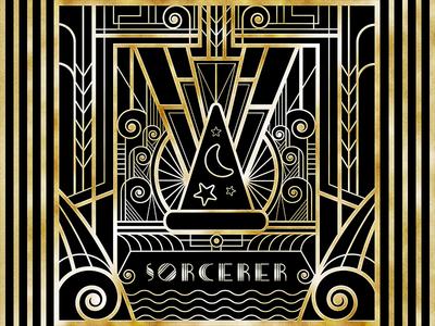 Art Deco Sorcerer Design
