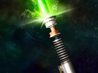 May The Fourth Be With You - Light Saber
