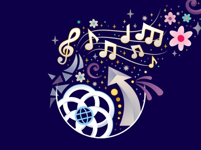 For they can make, our wildest dreams come true... design illustrator epcot vector disney