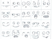 Babich Face Expression Study