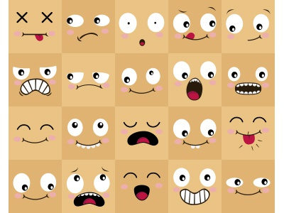 Babich Face Expression Study Vector babich babich and stoli mr onno studios face study expression character vector smile teeth illustration cartoon