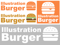 Illustration Burger Logo