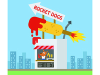 100 Snack Shacks: Rocket Dogs