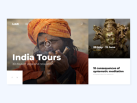 Yoga tour website