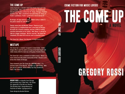 The Come Up - book cover print cover crime fiction book cover chicago