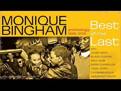"""Monique Bingham """"Best of the Last"""" bestofthelast monique bingham blue note cover record record cover"""