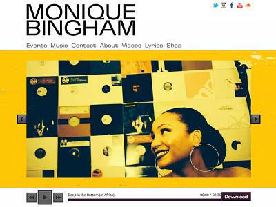www.moniquebingham.com re-designed bestofthelast web