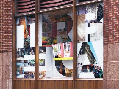 Tribeca window at 60 Hudson nyc anselm dastner window graphics western union building nyc tribeca
