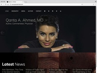 Qanta Ahmed website
