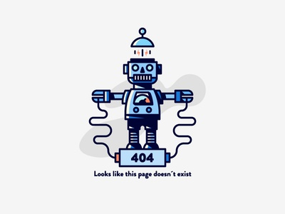 Angry boot 404 error page web line work black white hard shadows