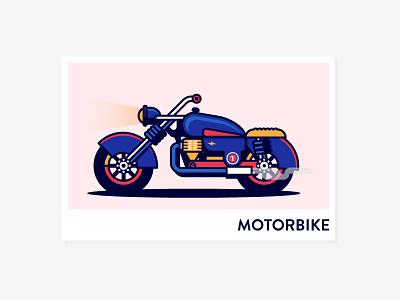 Motorbike V1 motorbike motor icon outline bike