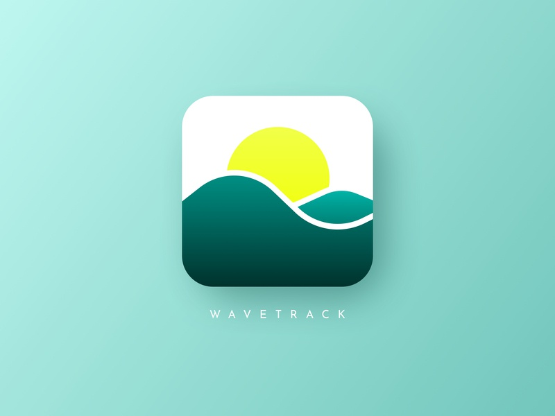 App Icon - Surf Forecast by Michelle Thompson on Dribbble